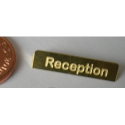 Reception... Desk Sign