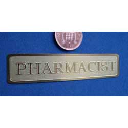 Pharmacist.....Brass