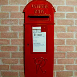 Victorian Post Box Fret