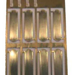 Brass Finger Plates Fret.