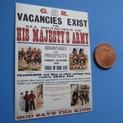 WW1 ....Army Recruitment Poster