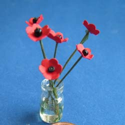 Poppies in Jar