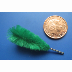 Green 'Feather' Duster