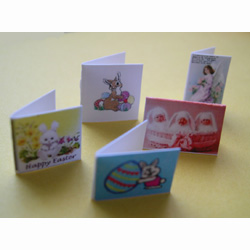 5 Assorted Easter Cards