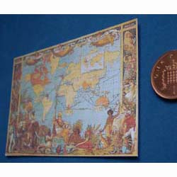 Victorian World Map