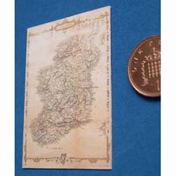 Victorian Map of Ireland...Citca 1860