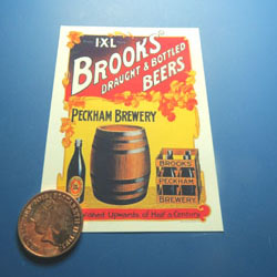 Brooks Beer Poster