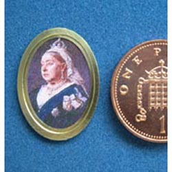 1/24th Scale portrait of Queen Victoria