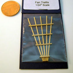 1/24th Scale Fan Trellis