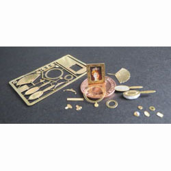 1/24th Scale Ladies Accessories Kit - Brass