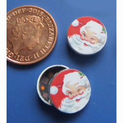 1/24th Scale Santa Biscuit Tin