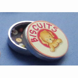 1/24th Scale Dog Biscuit Tin