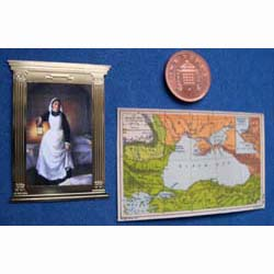 Florence Nightingale and a Map of the Crimea