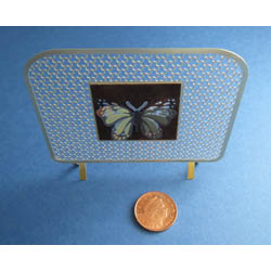Butterfly Fire Screen