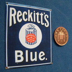 Reckitts Blue Poster