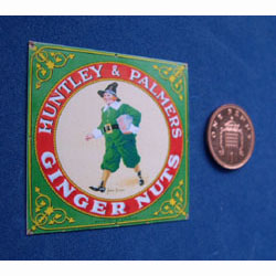 Huntley and Palmers Ginger Nuts Poster