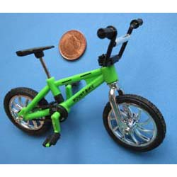 Childs Green Bicycle (Plastic)