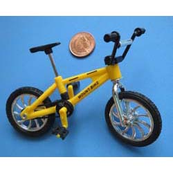 Childs Yellow Bicycle (Plastic)
