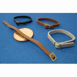 4 Assorted Leather Belts