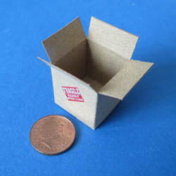 Empty Cardboard Box - Small