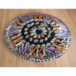 Round Mat - Lilac