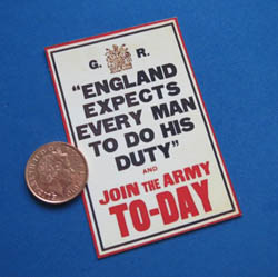 WW1 ....England Expects....Poster