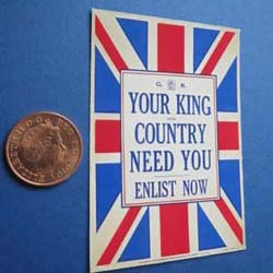 WW1.....Your King and Country Need You