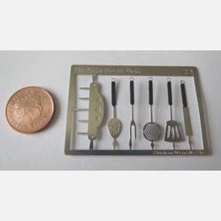 Kitchen Utensils Kit with Black Handles