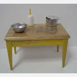 Yellow Kitchen Table plus Accessories