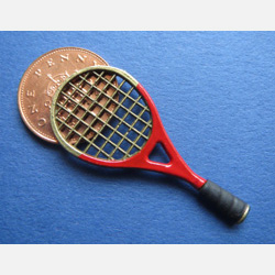 Tennis Racket - Red