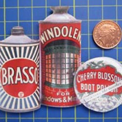 Brasso Tin Sign with Magnet