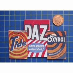 Tide Tin Sign with Magnet