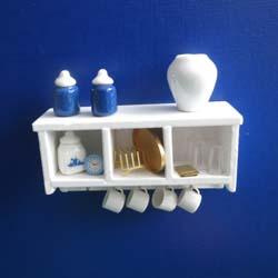 625b Kitchen Shelf - Blue