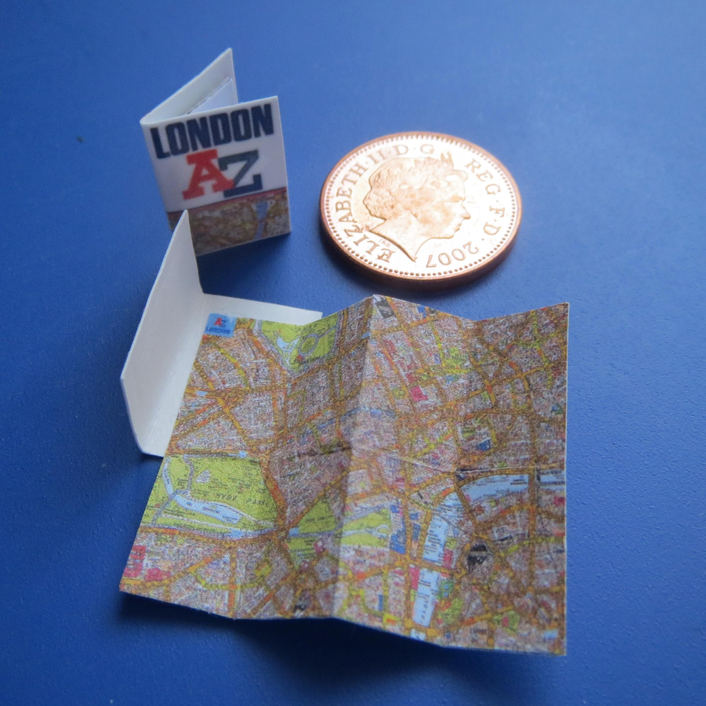 The Mall London Map.Folding Map Of London